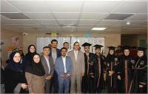 The presence of Professor Murtomaa in the first graduation ceremony of Community Oral Health Ph.D. s...