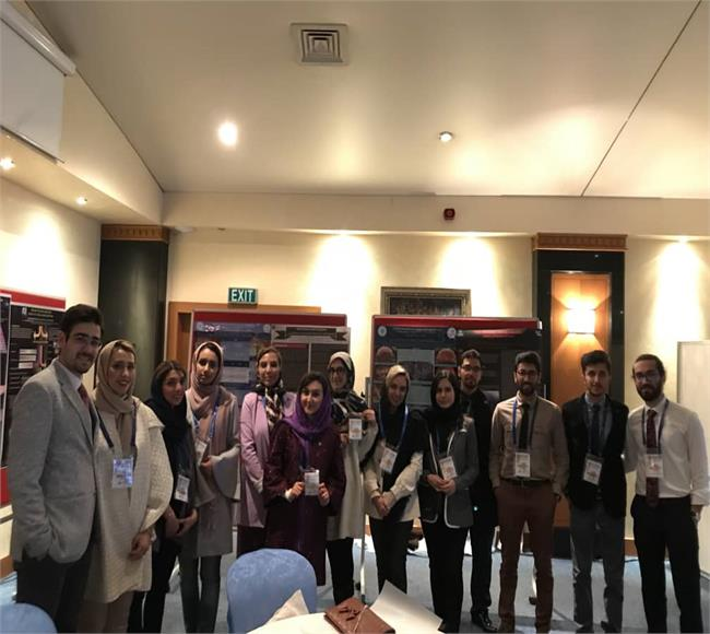 A team from TUMS School of Dentistry actively joined the 6th international YUDSA congress.