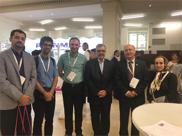An Official team from TUMS School of Dentistry attended ADEE 2019Annual meeting