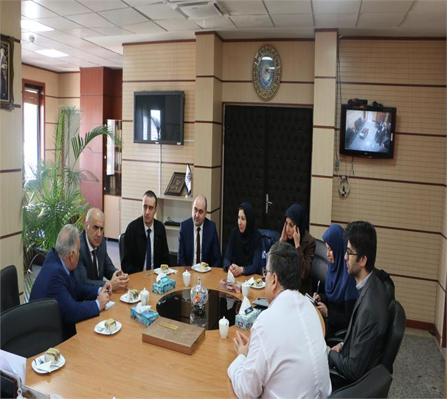Ambassador of the Republic of Armenia in Tehran and his team, visited the School of Dentistry